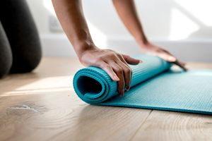 Pilates yoga tapis